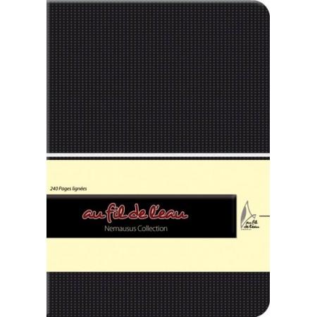 Carnet de notes - 12x17 - souple - noir