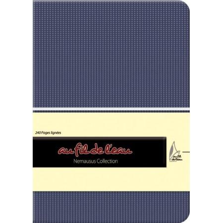Carnet de notes - 12x17 - souple - bleu