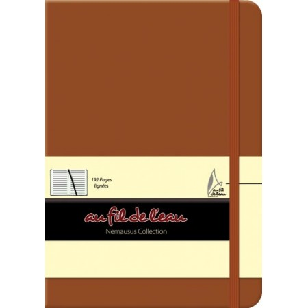 Carnet de notes - 12x17 - rigide - brun