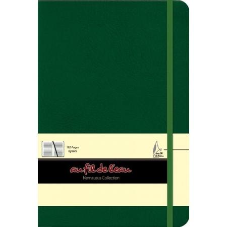 Carnet de notes - 14x21 - rigide - vert