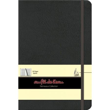 Carnet de notes - 14x21 - rigide - noir marbré