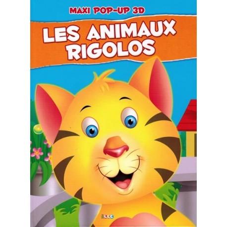 Les animaux rigolos. maxi pop-up
