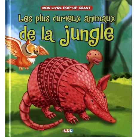 Les plus curieux animaux de la jungle. Mon livre pop-up géant