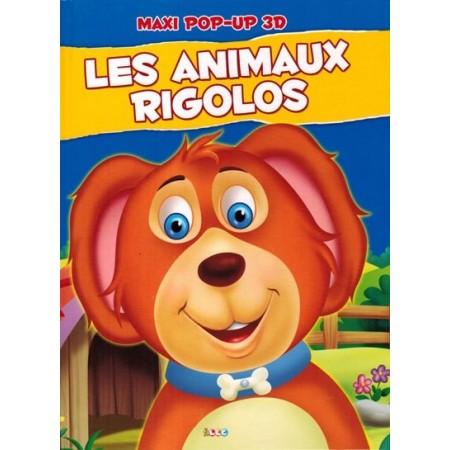 Les animaux rigolos chien. maxi pop-up