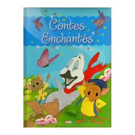 Contes enchantés (glitter bleu)