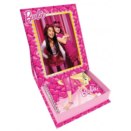 Mon coffret cadre photo avec journal intime Barbie
