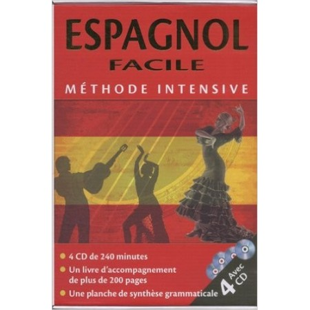 Espagnol facile : Méthode intensive (4CD audio)