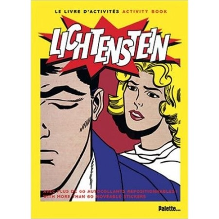 Roy Lichtenstein Livre d'activiés