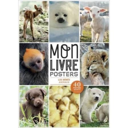 Mon livre posters Les bébés animaux