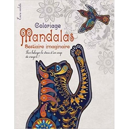 Coloriage Mandalas - Bestiaire imaginaire grand format
