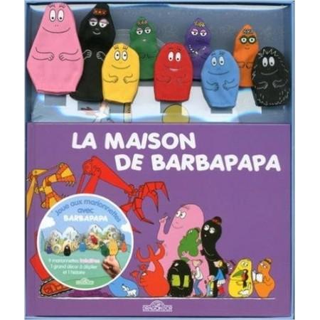 Barbapapa - Coffret livre + décor + 9 marionnettes