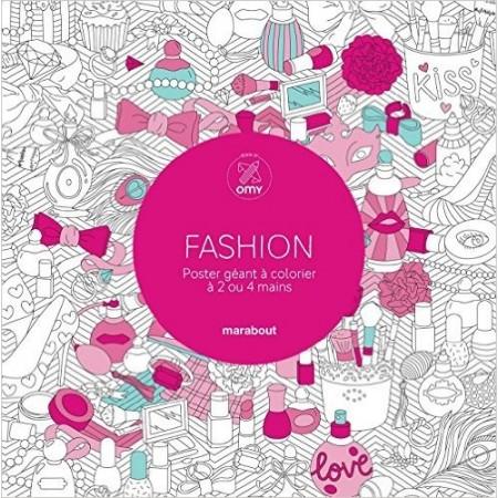 Fashion - Poster géant à colorier