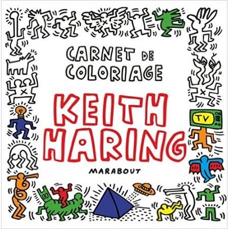 Carnet de coloriage de Keith Haring