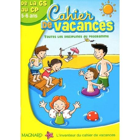 cahier de vacances 5 ans