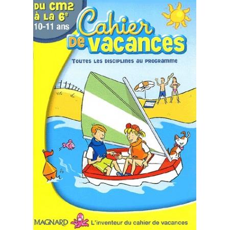 Cahier de vacances du CM2 à la 6e