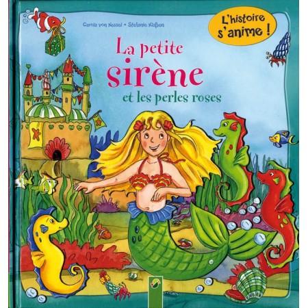 La petite sirène et les perles roses