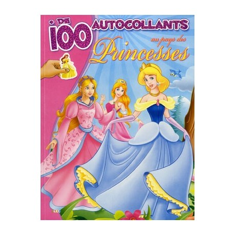 Au pays des princesses + de 100 autocollants