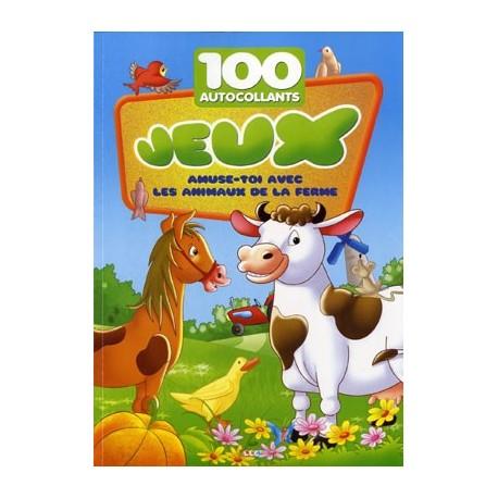 Zoo. 100 autocollants + jeux