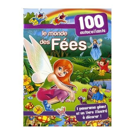 Les fées (violet). 100 autocollants + 1 panorama