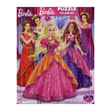Barbie et le palais des diamants. Puzzle 35 pièces