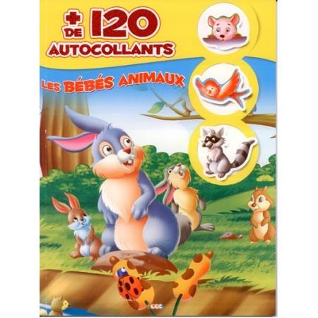 Les bébés animaux + de 120 autocollants