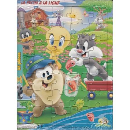 Looney Tunes La pêche à la ligne Puzzle 35 pièces