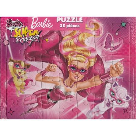 Barbie Super Princesse ! Puzzle 35 pièces
