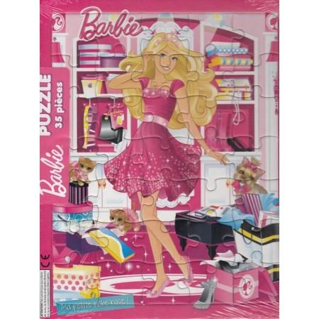 Barbie Ma petite robe rose ! Puzzle 35 pièces