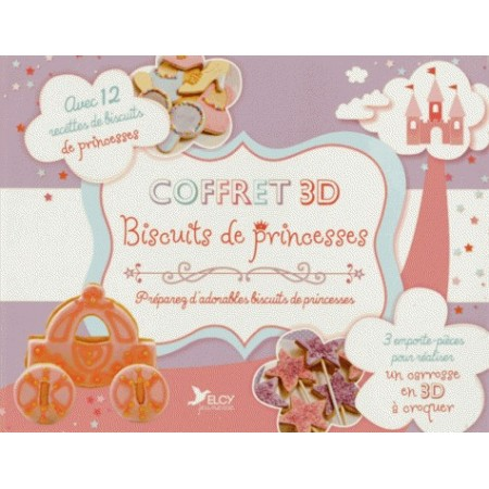 Coffret 3D Biscuits de princesses