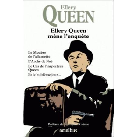 Ellery Queen mène l'enquête - Le mystère de l'allumette, L'arche de Noé, Le cas de l'inspecteur Queen, Et le huitième jour