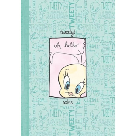 Carnet - Tweety oh hello - vernis sélectif