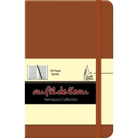 Carnet de notes - 9x14 - rigide - brun