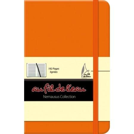 Carnet de notes - 9x14 - rigide - orange