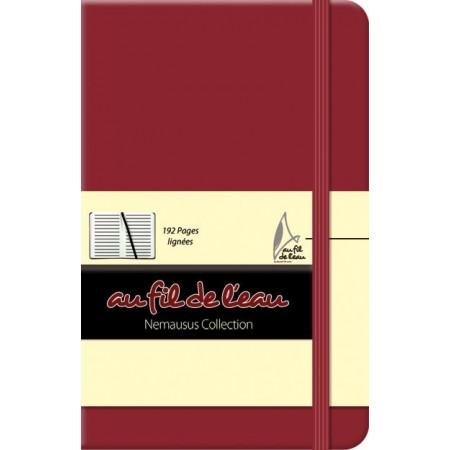 Carnet de notes - 9x14 - rigide - framboise