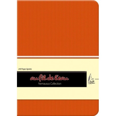 Carnet de notes - 12x17 - souple - orange