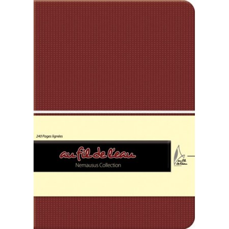 Carnet de notes - 12x17 - souple - marron