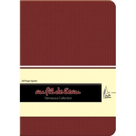 Carnet de notes - 12x17 - souple - bordeaux