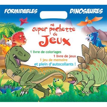 Formidables Dinosaures - Super pochette de jeux