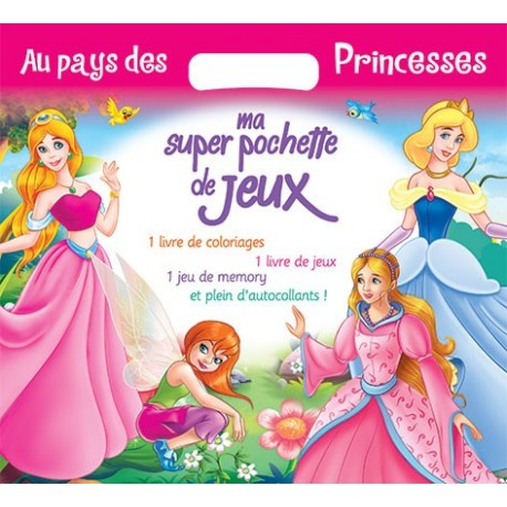 Au pays des princesses - Super pochette de jeux