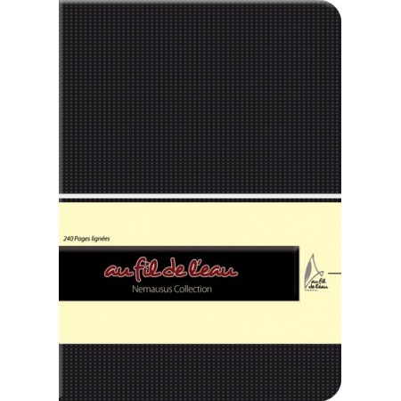 Carnet de notes - 12x17 - souple - noir