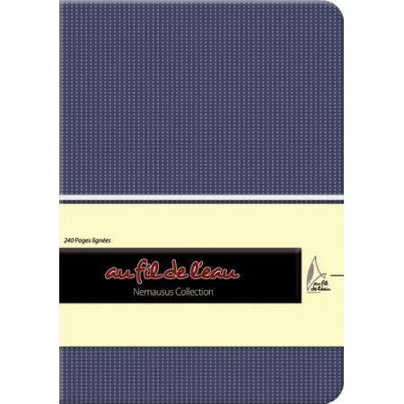 Carnet de notes - 12x17 - souple - bleu