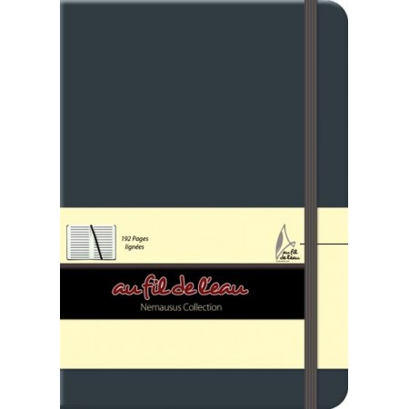 Carnet de notes - 12x17 - rigide - anthracite