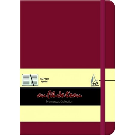 Carnet de notes - 12x17 - rigide - framboise