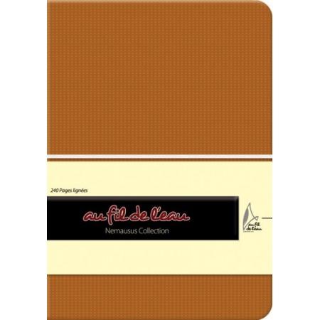 Carnet de notes - 12x17 - rigide - camel