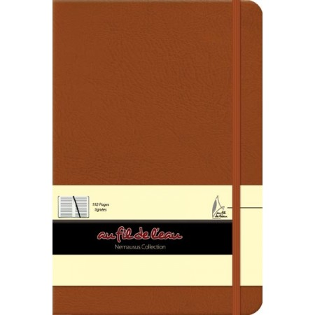 Carnet de notes - 14x21 - rigide - camel