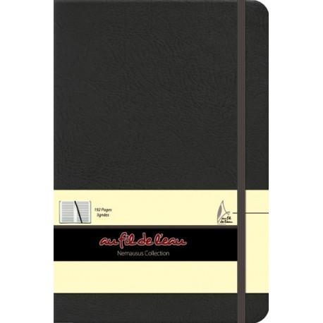Carnet de notes - 14x21 - rigide - noir