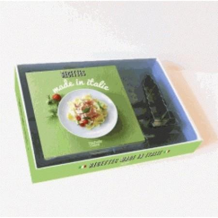 Coffret recettes made in Italie - Avec un emporte-pièce