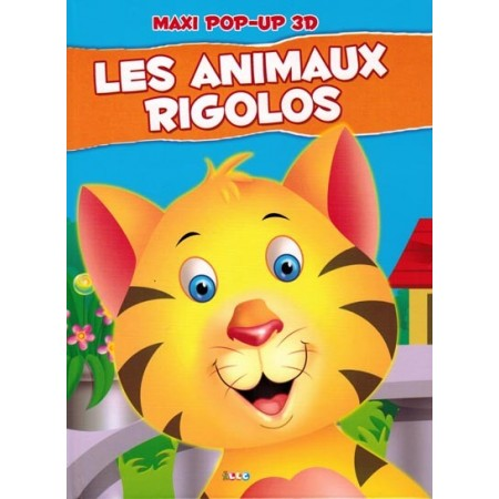 Les animaux rigolos. maxi pop-up