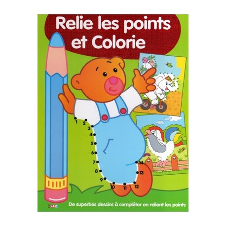 Relie les points et colorie