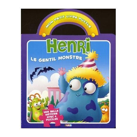 Henri le gentil monstre. Mon petit livre puzzle